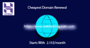 Hostinger Cheapest Domain renewal